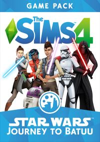 Game Box for The Sims 4: Star Wars - Journey to Batuu (PC)