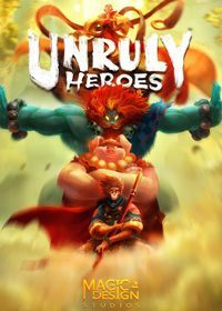 Game Box for Unruly Heroes (PC)