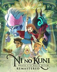 Game Box for Ni no Kuni: Wrath of the White Witch Remastered (PS4)