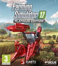 Game Box for Farming Simulator 17: Platinum Edition (PC)