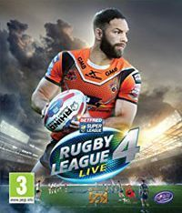 Game Box for Rugby League Live 4 (PS4)