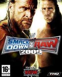 Okładka WWE SmackDown vs. Raw 2009 (PS3)