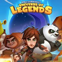DreamWorks Universe of Legends (AND cover