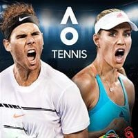 Game Box for AO International Tennis (PS4)