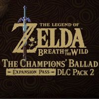 Game Box for The Legend of Zelda: Breath of the Wild - Champions' Ballad (WiiU)