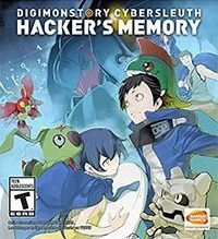 Okładka Digimon Story: Cyber Sleuth Hacker's Memory (PSV)