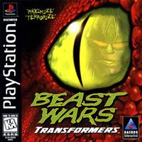 Game Box for Beast Wars: Transformers (PS1)