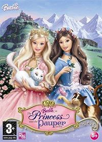 Okładka Barbie as The Princess and the Pauper (GBA)