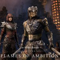 Game Box for The Elder Scrolls Online: Flames of Ambition (PC)