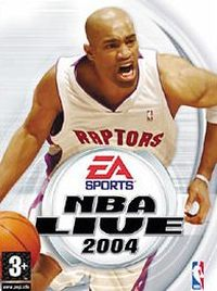 Game Box for NBA Live 2004 (PC)