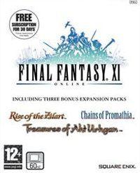 Okładka Final Fantasy XI (PS2)