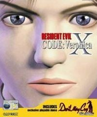 Game Box for Resident Evil Code: Veronica X (PS2)
