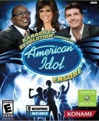 Game Box for Karaoke Revolution Presents: American Idol Encore (X360)