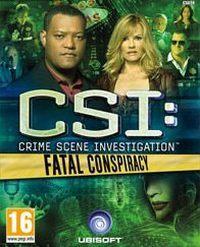 Game Box for CSI: Fatal Conspiracy (PC)