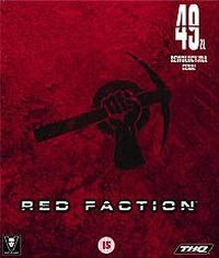 Okładka Red Faction (PC)