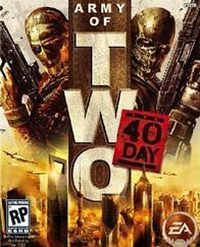 Okładka Army of Two: The 40th Day (PS3)