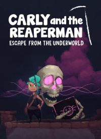Game Box for Carly and the Reaperman: Escape from the Underworld (PC)