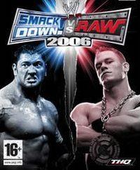 Okładka WWE SmackDown! vs. Raw 2006 (PSP)