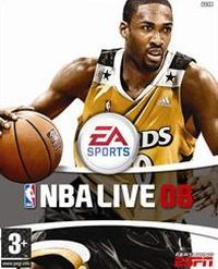 Okładka NBA Live 08 (PC)