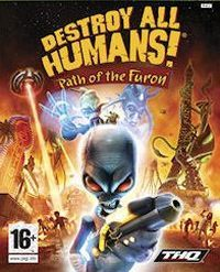 Okładka Destroy All Humans!: Path of the Furon (PS3)