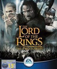 Game Box for The Lord of the Rings: The Two Towers (GBA)