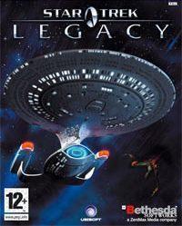 Okładka Star Trek: Legacy (PC)