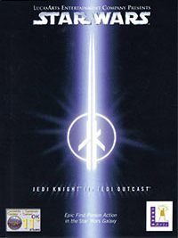 Game Box for Star Wars Jedi Knight II: Jedi Outcast (PC)