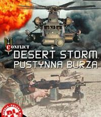 Game Box for Conflict: Desert Storm (PC)