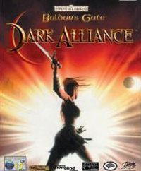 Game Box for Baldur's Gate: Dark Alliance (GBA)