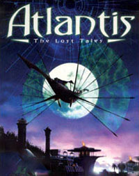 Game Box for Atlantis: The Lost Tales (PS1)