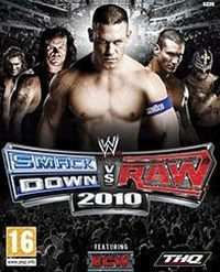 Game Box for WWE SmackDown vs. Raw 2010 (PS2)
