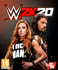 Game Box for WWE 2K20 (PS4)
