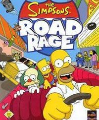 Okładka The Simpsons: Road Rage (GBA)