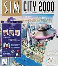 Okładka SimCity 2000 (PC)