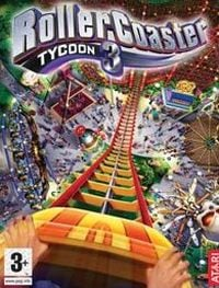 Game Box for RollerCoaster Tycoon 3 (PC)