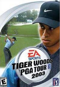 Game Box for Tiger Woods PGA Tour 2003 (PC)