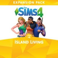 Game Box for The Sims 4: Island Living (PC)