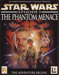 Game Box for Star Wars Episode I: The Phantom Menace (PC)