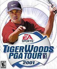 Okładka Tiger Woods PGA Tour 2001 (PS2)