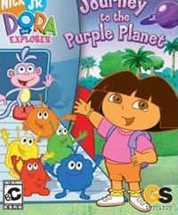 Game Box for Dora the Explorer: Journey to the Purple Planet (GCN)