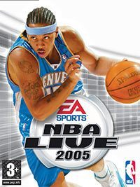 Okładka NBA Live 2005 (PC)