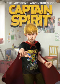 Game Box for The Awesome Adventures of Captain Spirit (PC)