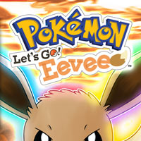 Okładka Pokemon: Let's Go, Eevee! (Switch)