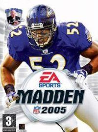 Okładka Madden NFL 2005 (PC)