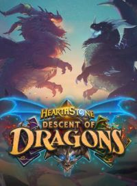 Hearthstone: Descent of Dragons cover