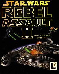 Okładka Star Wars: Rebel Assault II - The Hidden Empire (PS1)