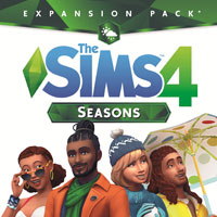 Game Box for The Sims 4: Seasons (PC)
