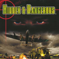 Game Box for Hidden and Dangerous (PS1)