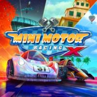 Okładka Mini Motor Racing X (PS4)