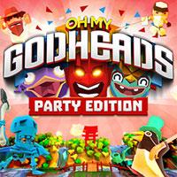 Okładka Oh My Godheads (PS4)